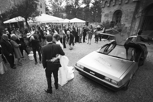 10Matrimonio Barbara & Vittorio arrivo auto