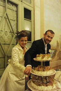 14Matrimonio Francesco & Vanessa taglio torta